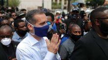 Coronavirus: Los Angeles on brink of highest 'red' threat level, says mayor
