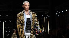 Leopard print hair is the next major beauty trend according to the Versace runway