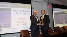 Fifth Third Accepts Award for Top 10 Solar Recognition