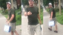Montreal police have found the man who hurled racist insults at Muslim woman and child