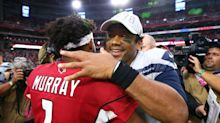 An MVP duel is breaking out in the NFC West: Russell Wilson vs Kyler Murray