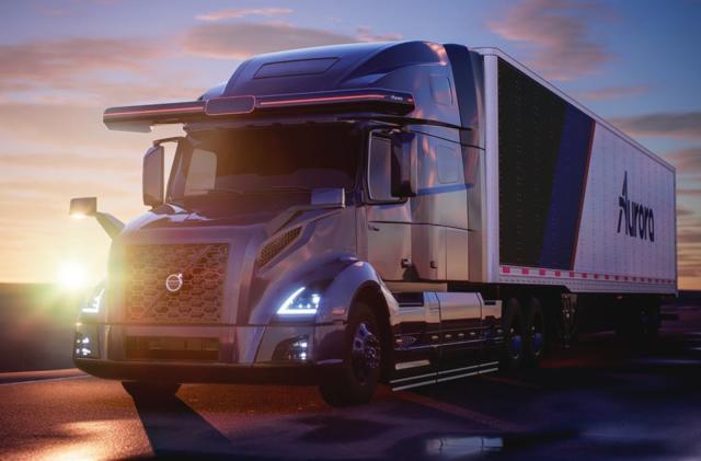 Aurora is helping Volvo develop autonomous semi trucks
