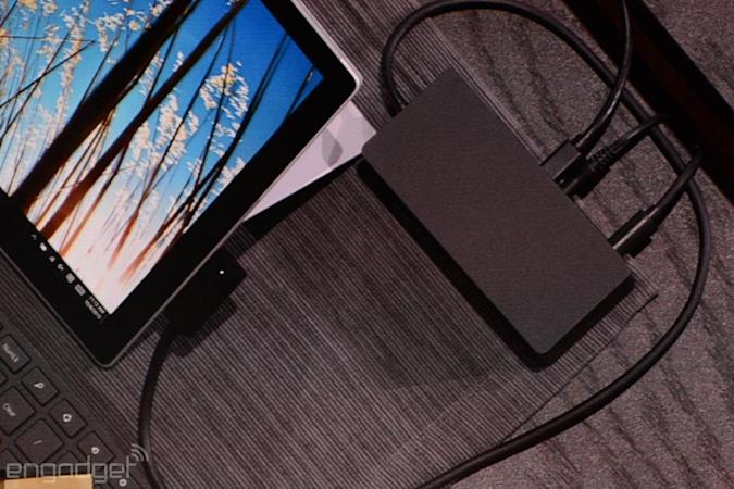 Microsoft has a docking station for your Surface Pro tablet