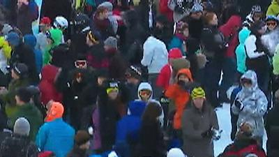 Raw: Seattle Stages 'Biggest' Snowball Fight