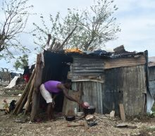 Haiti hurricane victims, in makeshift camps, bemoan aid chaos