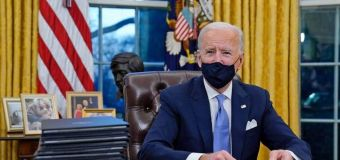 Symbolic changes Biden has made to Oval Office