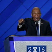 Some DNC delegates booed during speeches given by people of color. Here's what was going on.