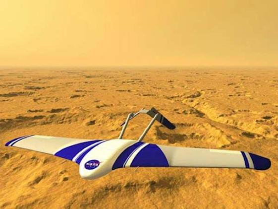 NASA hopes to send ARES rocket-powered robot plane to Mars