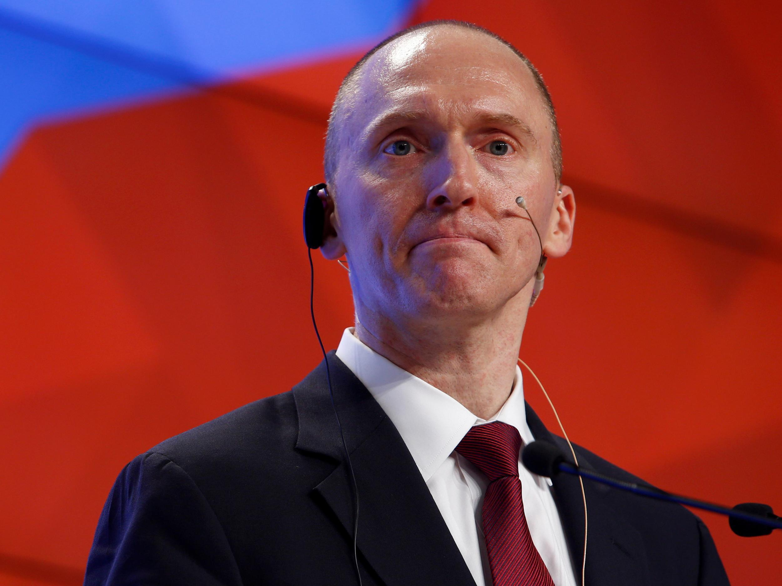 Donald Trump former aide Carter Page refuses to provide Russia contacts to Senate