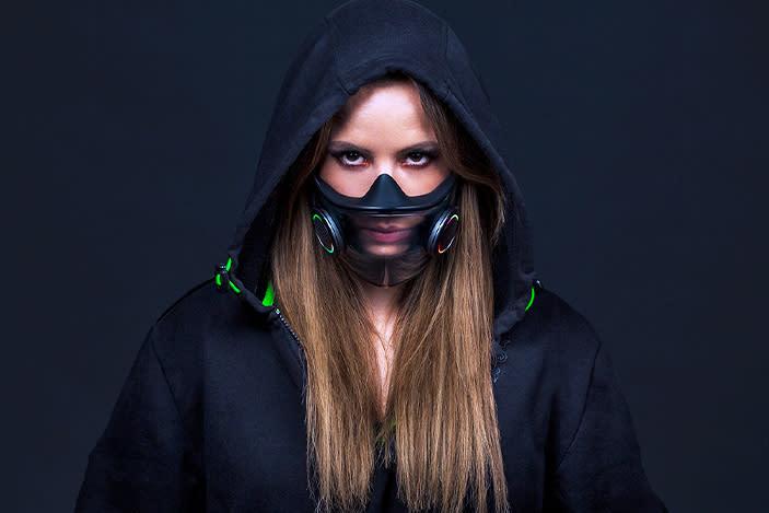 Razer confirms plans to manufacture its smart RGB face mask