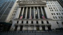 US stocks shake off early weakness to end at records
