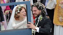 GoT's Kit Harington and Rose Leslie tie the knot