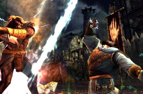 New LotRO screens and video feature Orthanc, Isengard action