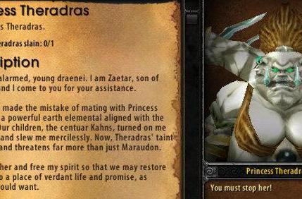 Know Your Lore: Theradras, Zaetar and the centaur
