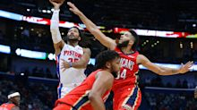 Derrick Rose drains last second shot to lead Pistons past Pelicans: 'I'm born to do this s--t'