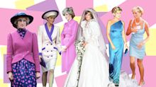 Princess Diana's fashion evolution in pictures, from her wedding to her death