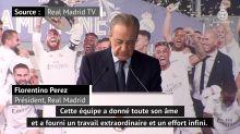 "Liga - Florentino Perez : ""Une Liga historique, merci Zizou"""