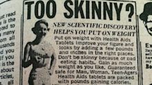 #TBT: A 1960s Beauty Ad Encouraged Weight Gain