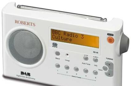 Roberts RD49, the smallest portable DAB radio evar?