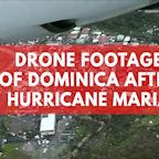 Aerial Footage of Dominica After Hurricane Maria