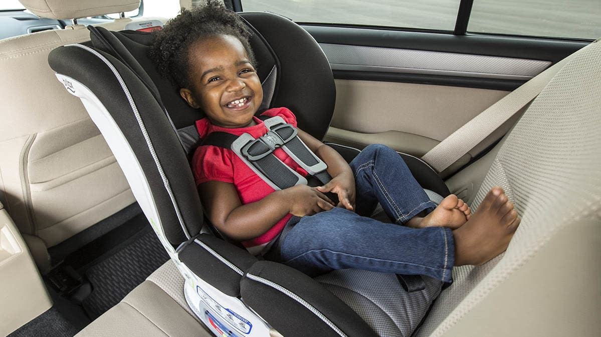 New Rear Facing Car Seat Recommendation Removes Age Guideline For Children
