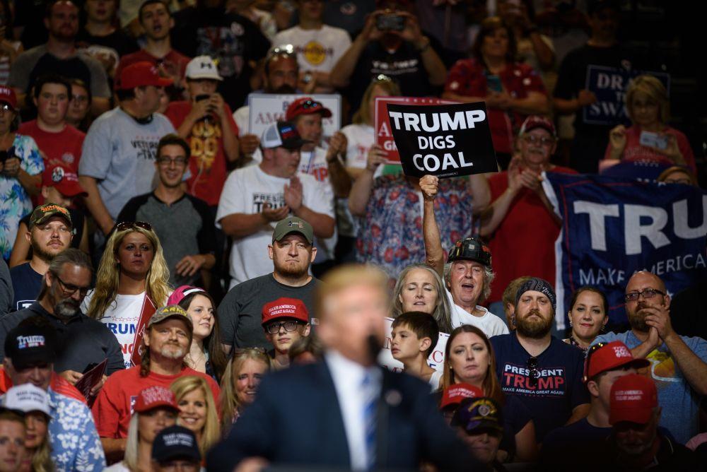 Trump in West Virginia