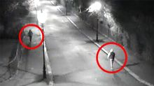 CCTV shows rapist stalking his victim, who he raped in attack amounting to 'torture' hours before marrying pregnant fiance