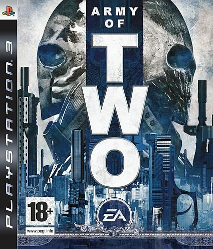 Army of Two official European boxart released
