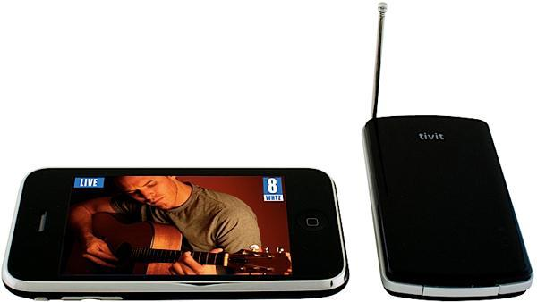Tivit promises to bring Mobile DTV to the iPhone and other WiFi-equipped mobile devices