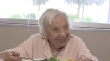 107-year-old woman says secret to long life is 'never getting married'
