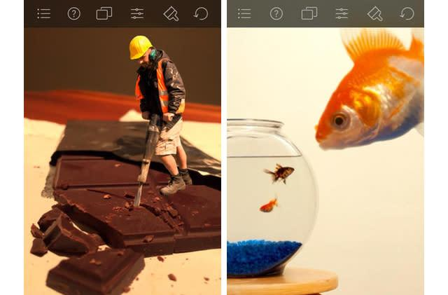 Daily App: Juxtaposer provides powerful editing tools to precisely combine images