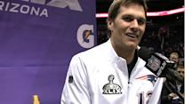 Best of Super Bowl XLIX Media Day: New England Patriots quarterback Tom Brady