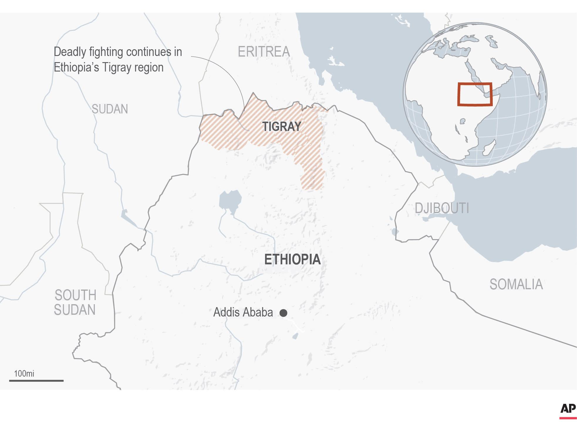 Sudan braces for up to 200,000 fleeing Ethiopia fighting