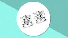 Shine on! These gorgeous real diamond studs are just $90 right now at Walmart