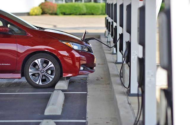 Google Maps helps you find open EV charging stations in real time