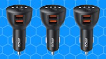 'Works flawlessly': This $20 car charger moonlights as a personal assistant — and it's on sale today only!