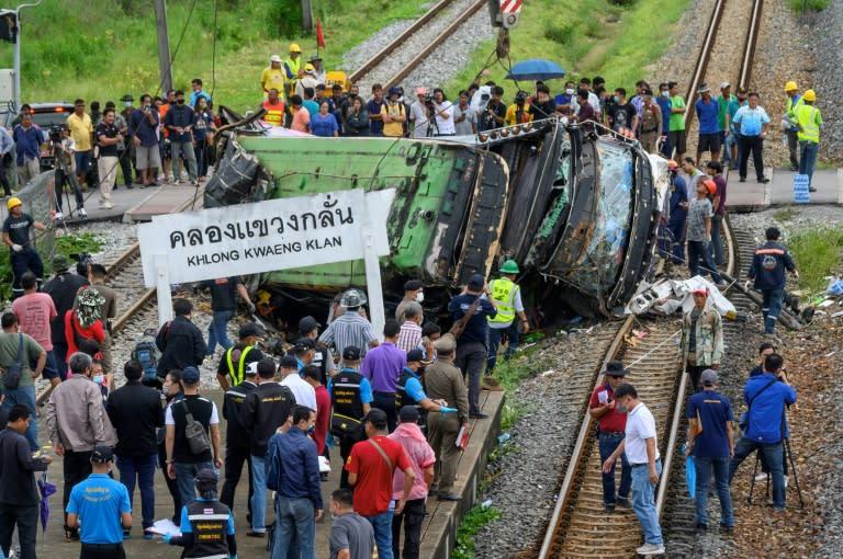 Deadly Thai Crash