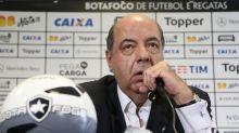 Presidente do Botafogo sai em defesa de Gatito: 'Reação de quem está saturado com a série de equívocos'