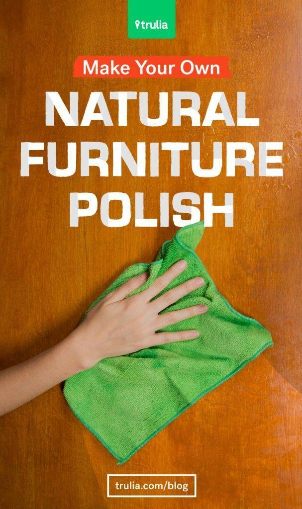 Easy all natural diy homemade furniture polish for Homemade organic furniture polish