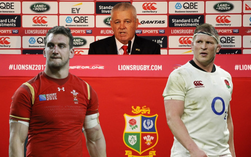 Warren Gatland's decision to omit a number go England players has perplexed many rugby fans - Copyright (c) 2016 Rex Features. No use without permission.