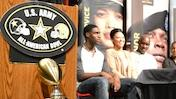 Marquez North gets Army Bowl Jersey