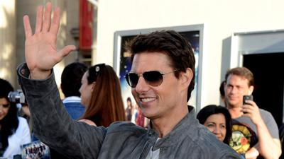 Tom Cruise's 'Rock Of Ages' Premiere