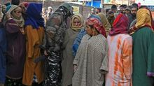 Tough security for Indian Kashmir's first vote since autonomy cancelled