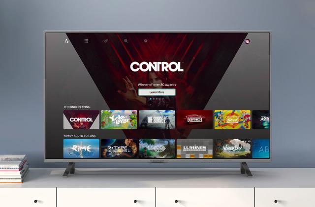 Amazon Luna's 720p streams help you play with poor connectivity