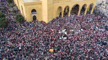 Bancos libaneses anuncian un día de cierre por protestas