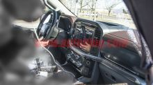 2021 Ford F-150 interior revealed in new spy photos
