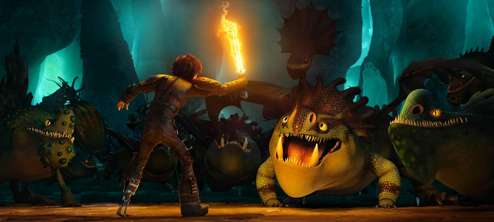 Hiccup's Diy Dragon Blade Explained In Exclusive Dvd Extra