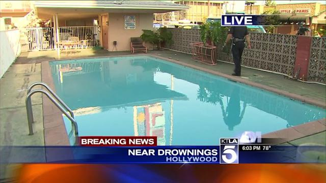 Mother, 2 Children in Grave Condition After Incident at Motel Pool