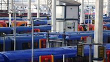 UK train firms sign government contracts that save them for 6-18 months