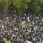 Aerial View Captures Scale of Climate Protests in Berlin